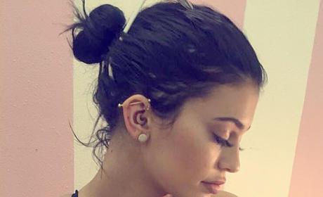 Kylie Jenner Piercing