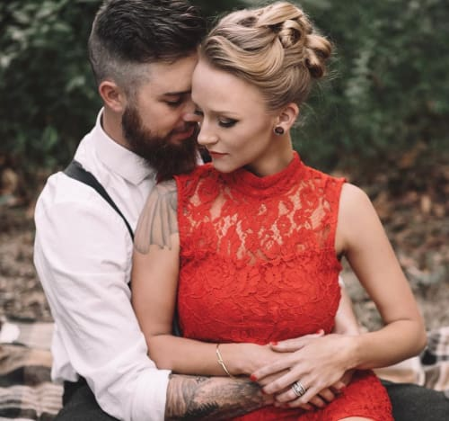 Taylor McKinney & Maci Bookout Close Together