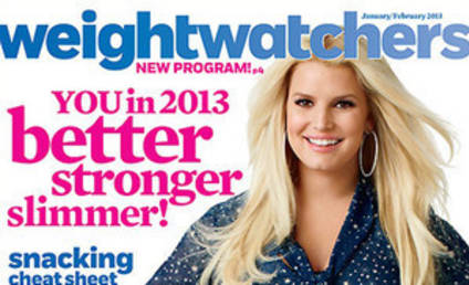 """Jessica Simpson Weight Watchers Magazine Cover: Her """"New"""" Life!"""