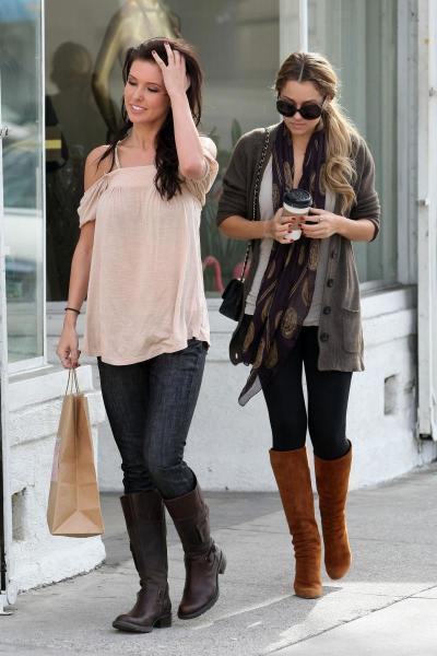Audrina and Lauren Shop