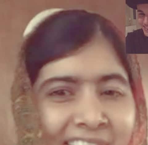 Justin Bieber and Malala