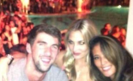 Michael Phelps, Megan Rossee Pic