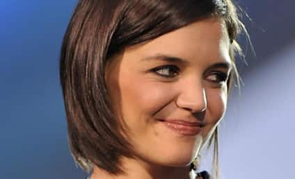 "Katie Holmes Attends Party... With Scientology ""Handler"""