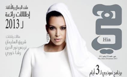 Kim Kardashian Kovers Arab Fashion Magazine