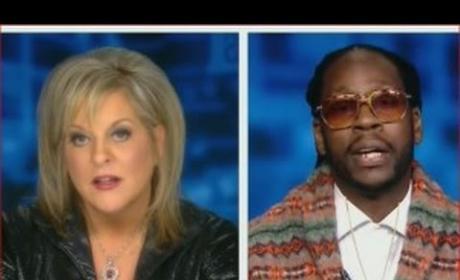 2 Chainz, Nancy Grace Debate