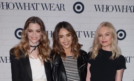 Jaime King, Jessica Alba and Kate Bosworth: Who What Wear And Target Launch Party