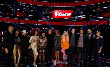 The Voice Top Twelve