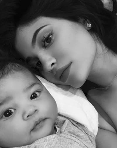 Selfie with Stormi