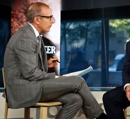 Matt Lauer Today Show Photo