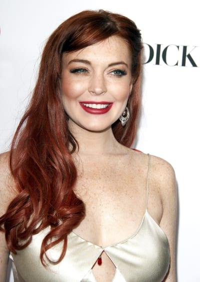 Lindsay Lohan Premiere Look