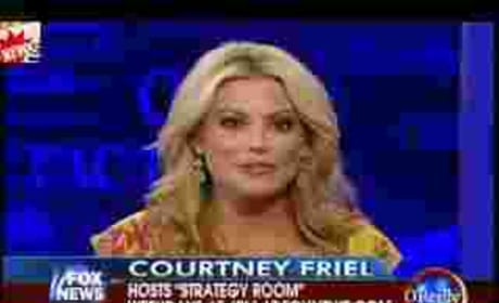 Erin Andrews Peephole Clip on O'Reilly Factor