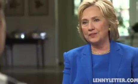 Hillary Clinton Wants to See Lenny Kravitz's Penis