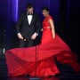 Priyanka Chopra Twirls Dress Tom Hiddleston 2016 Emmys