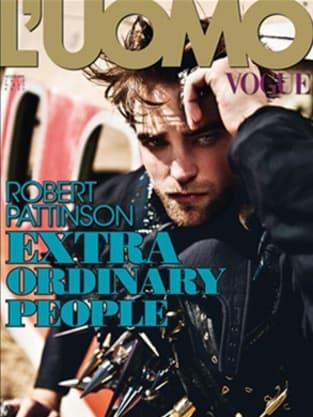 Robert Pattinson Italian Vogue Cover