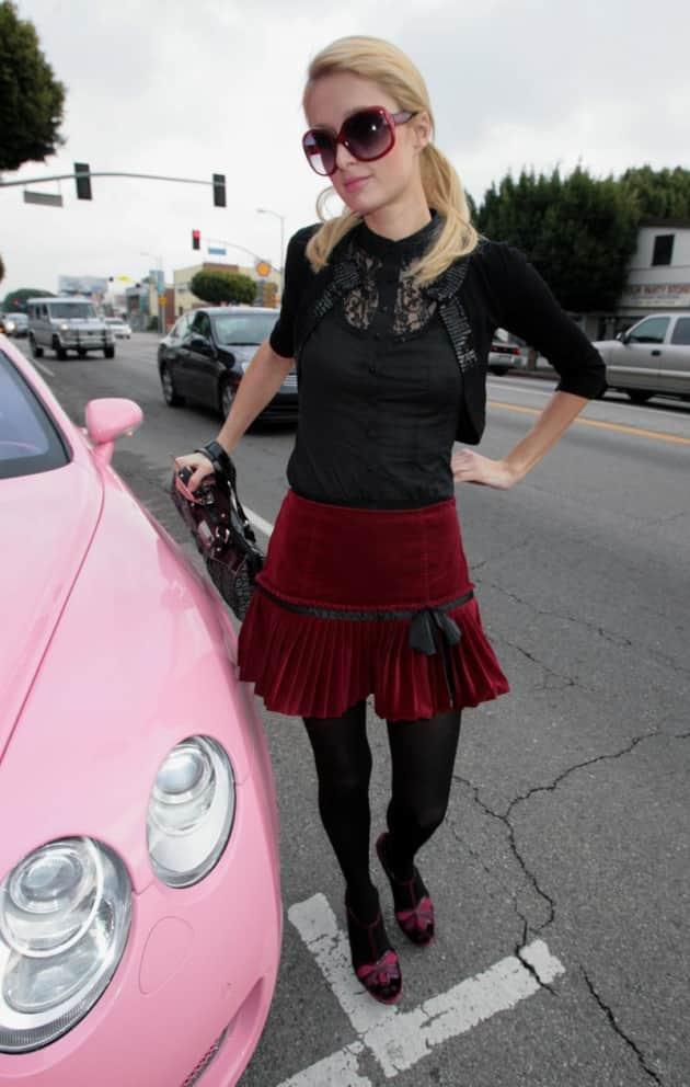 Paris Hilton, Pink Bentley