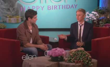 Zac Efron Serenades Ellen DeGeneres for Her Birthday