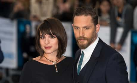 Tom Hardy, Charlotte Riley Photo