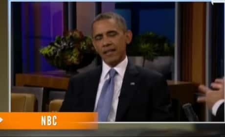 Obama on Tonight Show - John McCain Bromance