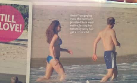 Kate Middleton Pregnant Bikini Pic
