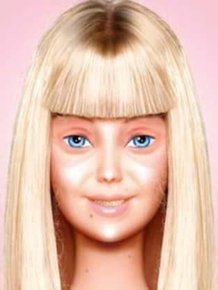 Barbie Without Makeup