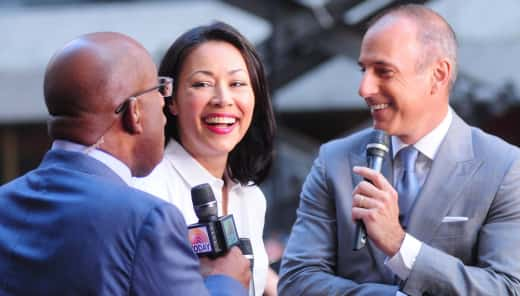Ann Curry on The Today Show