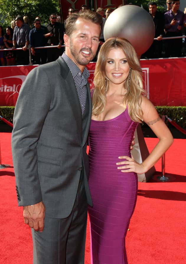 Willa Ford and Mike Modano