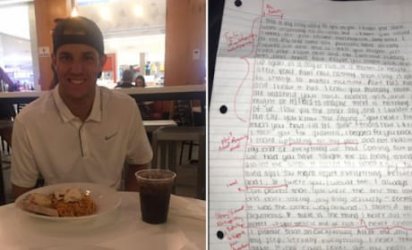 Most Awesome Guy Ever Grades Ex-Girlfriend's Apology Letter, Returns Edited Version
