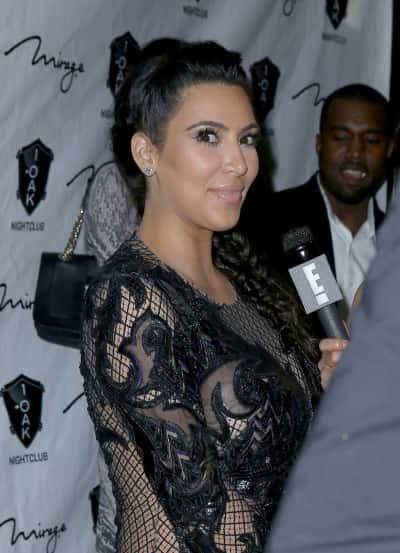 Kim Kardashian Interview Photo