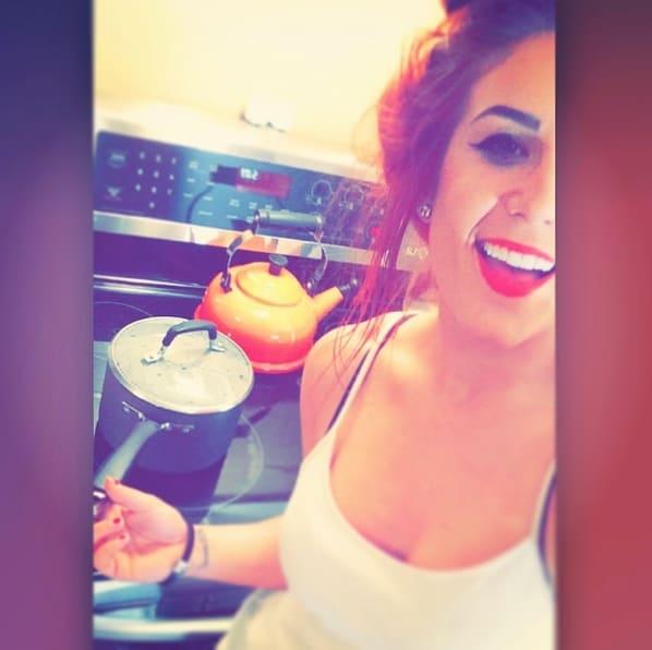 Chelsea Houska Cooking