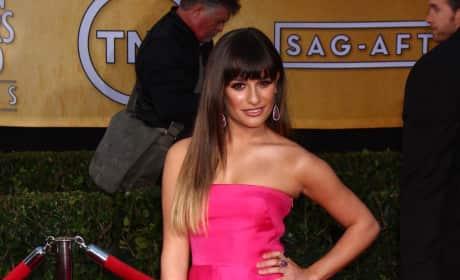 Lea Michele SAG Awards Fashion