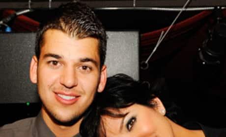 Rob and Kris Kardashian