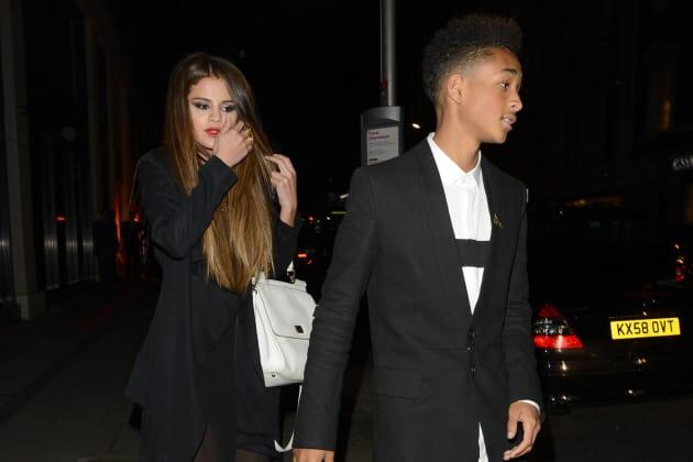 Jaden Smith and Selena Gomez
