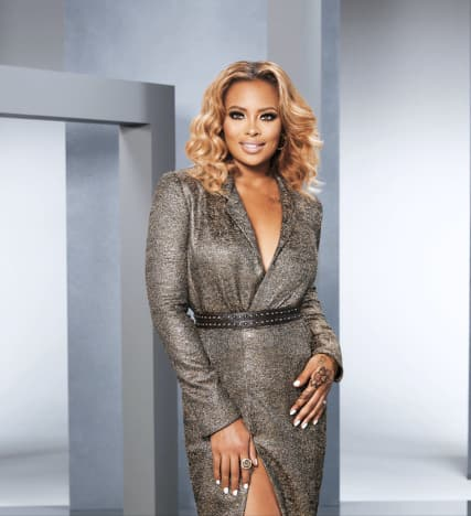 Eva Marcille Promotes Real Housewives of Atlanta