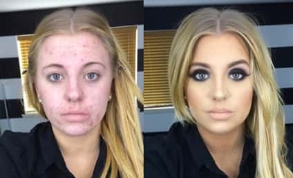 Woman Ridiculed For Before-and-After Makeup Photos, Responds to Haters