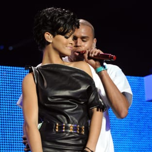 Rihanna, Chris Brown Picture