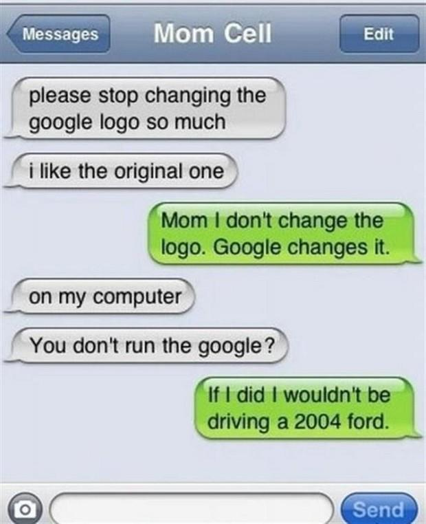 37 Hilarious Text Message Fails by Mom - The Hollywood Gossip