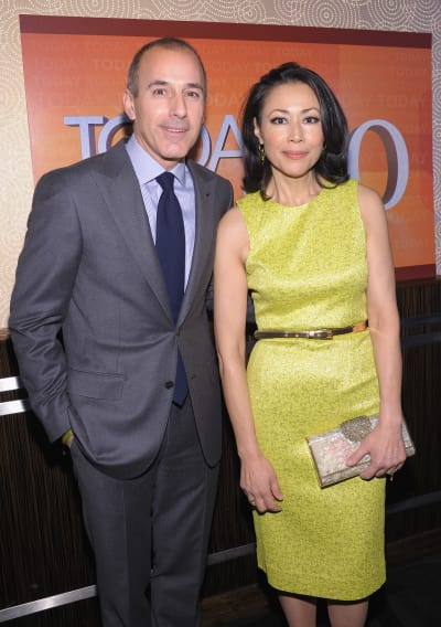 Ann Curry with Matt Lauer