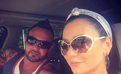 JWOWW and Roger Mathews in the Car