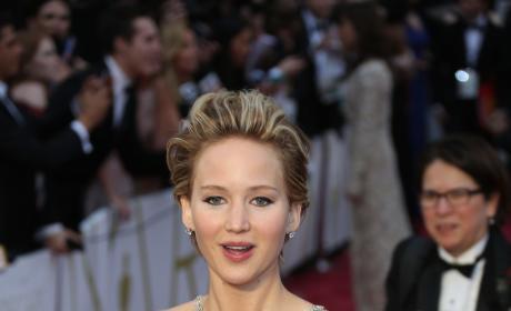 Jennifer Lawrence Academy Awards Photo