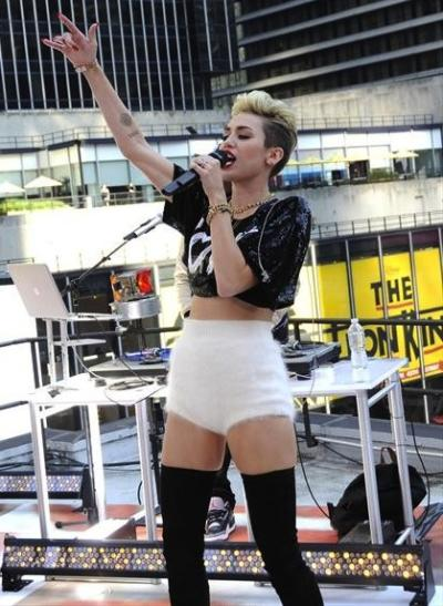Miley Cyrus on GMA