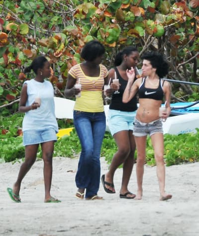 Winehouse: Back in St. Lucia