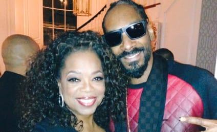 Oprah Winfrey and Snoop Dogg Meet, Quash Beef at Oscar Party