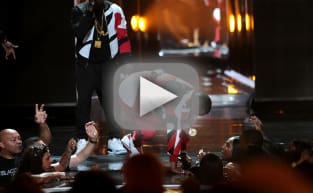 Diddy Falls Through Stage at BET Awards