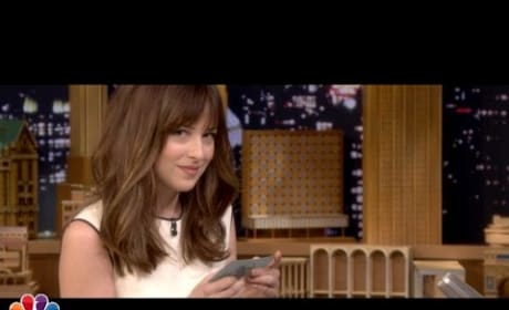 Dakota Johnson and Jimmy Fallon Get Sexy