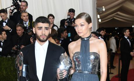 Gigi Hadid and Zayn Malik: 2016 Costume Institute Gala