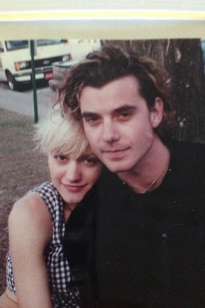 Gavin Rossdale and Gwen Stefani Throwback Photo