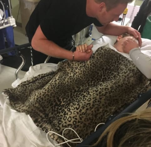 Kim Zolciak Son in Hospital