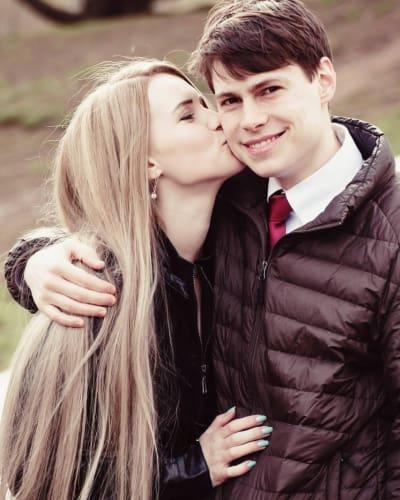 Aleksandra Iarovikova, Husband