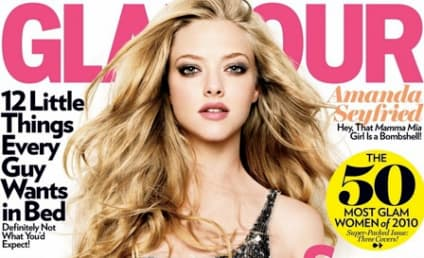 Leighton Meester, Amanda Seyfried and Zoe Saldana Tag Team Glamour Cover