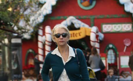 Helen Mirren Shops at The Grove